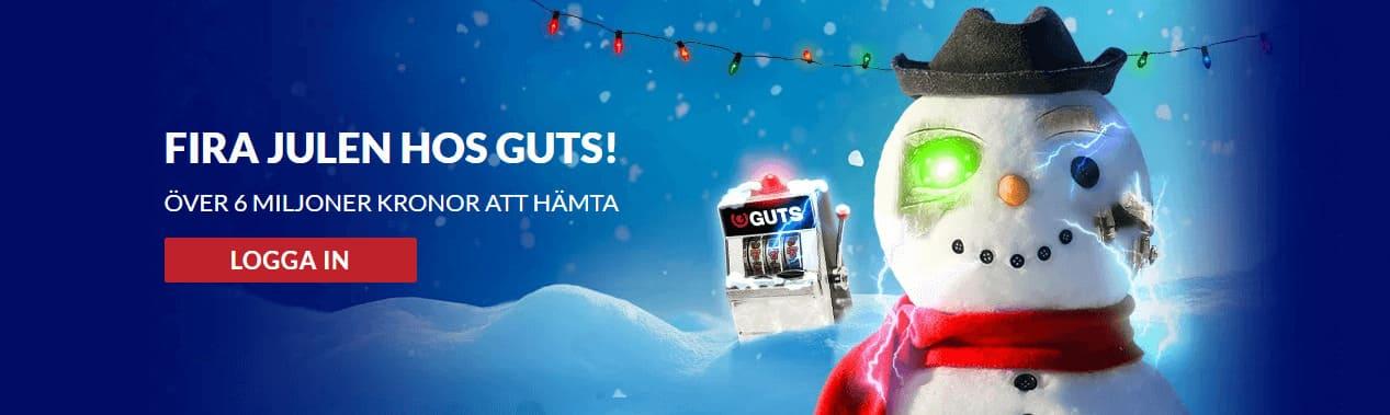 Julen hos Guts Casino